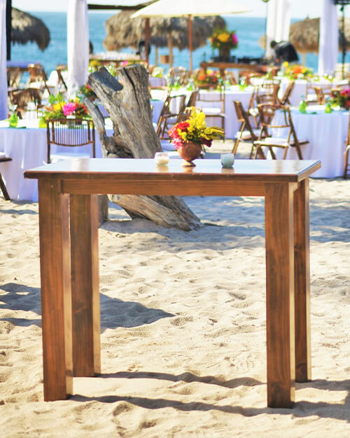 rustic cocktail tables